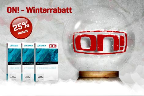 25% Winterrabatt